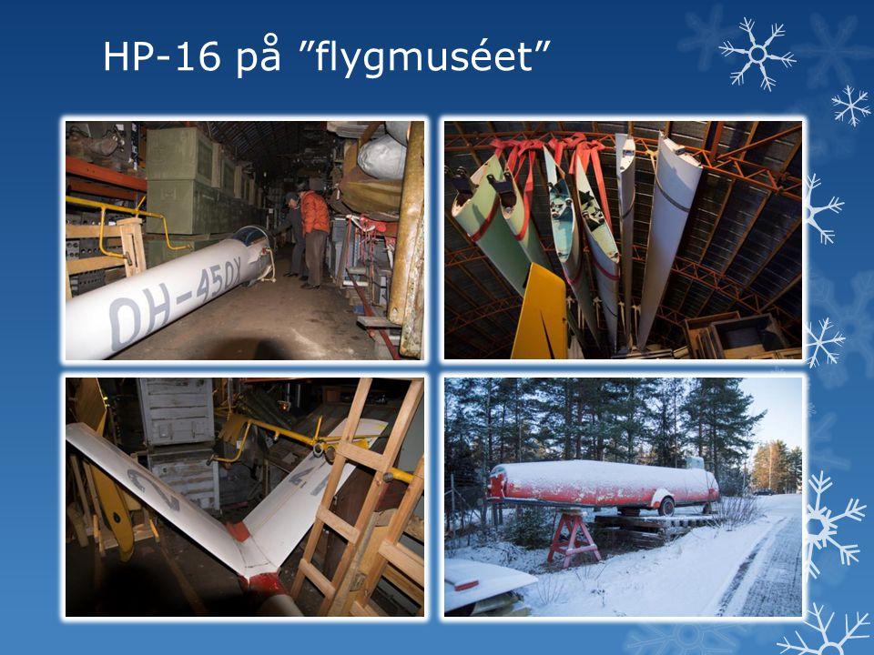 HP-16 på flygmuséet
