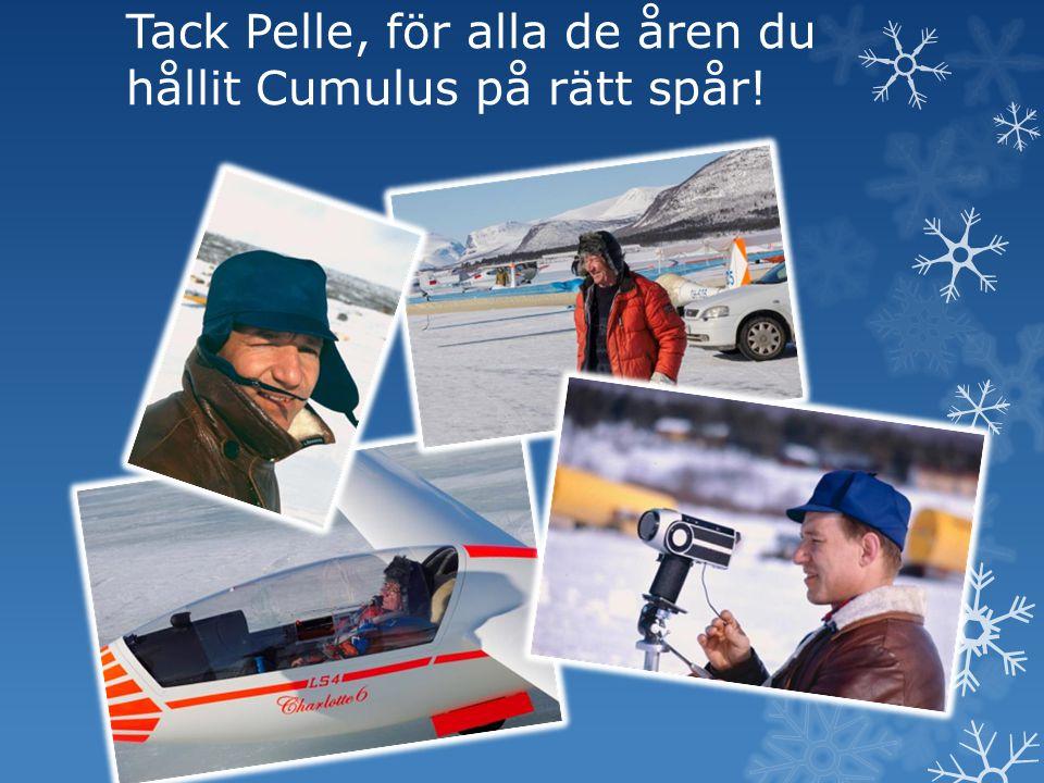 Tack Pelle, för alla de åren du hållit Cumulus på rätt spår!