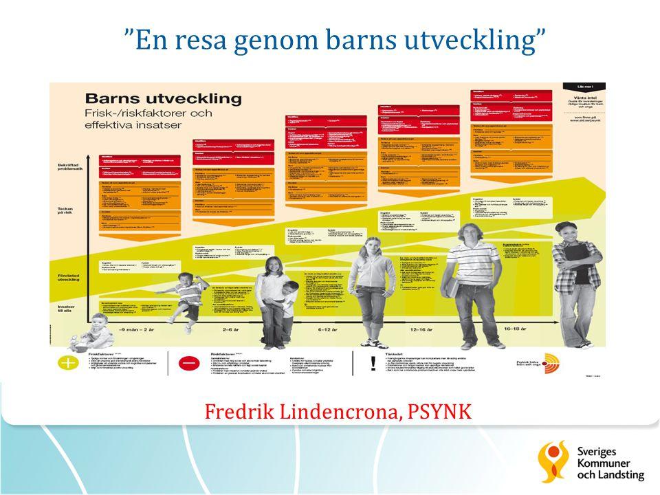 En resa genom barns utveckling Fredrik Lindencrona, PSYNK