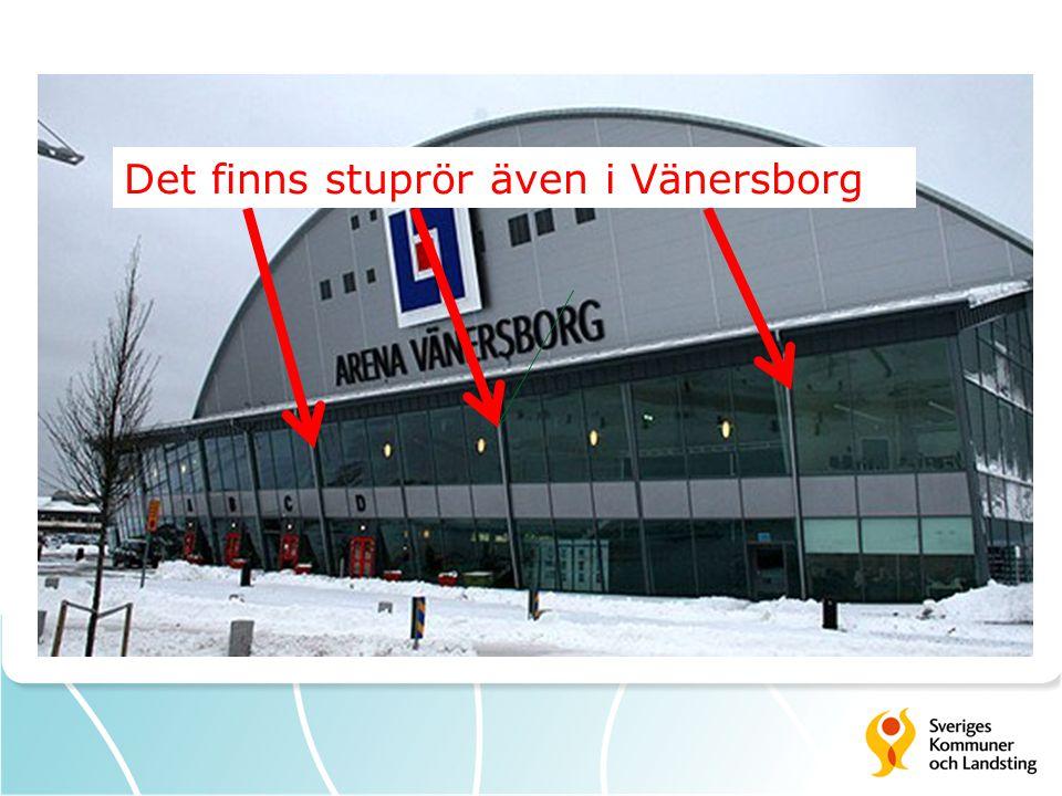 Det finns stuprör även i Vänersborg