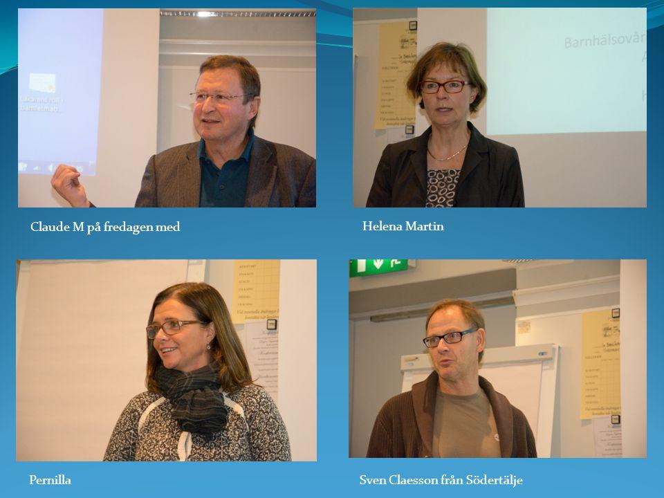 Claude M på fredagen med Helena Martin PernillaSven Claesson från Södertälje