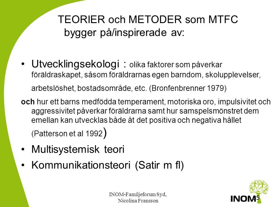 34 Varför MTFC? Varför MTFC? Programmet är ett resultat av många års forskning i USA om hur barn hamnar snett MTFC-modellen har testats i en studie so