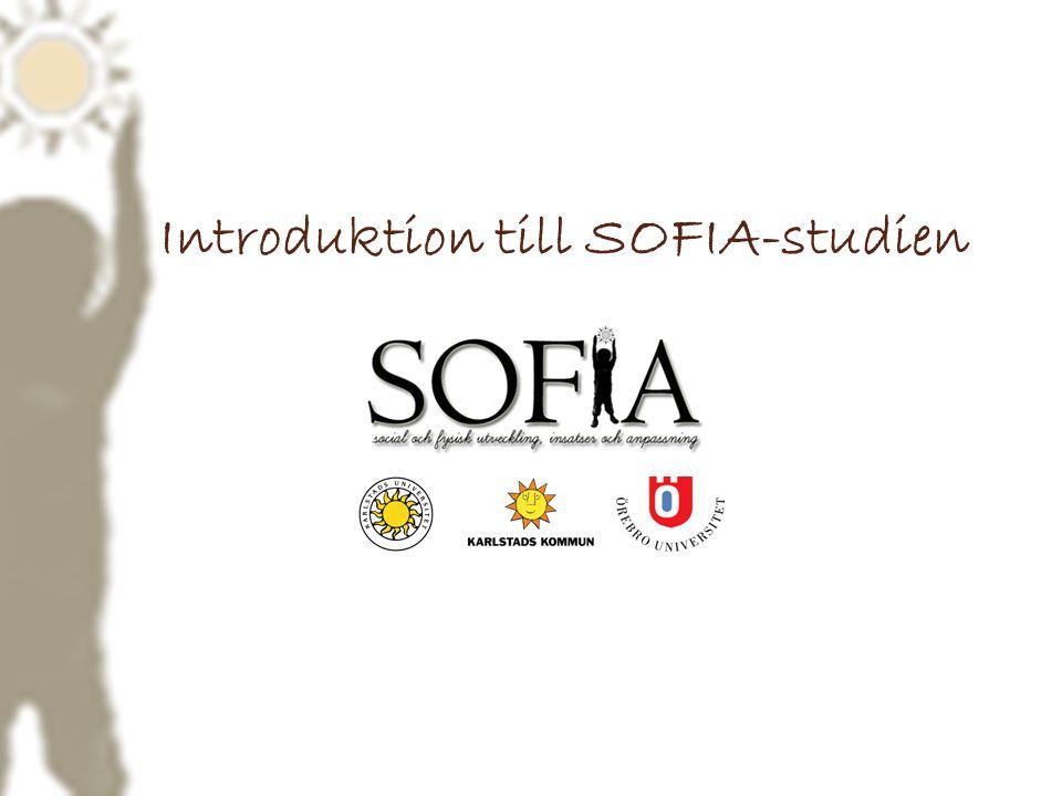 Introduktion till SOFIA-studien