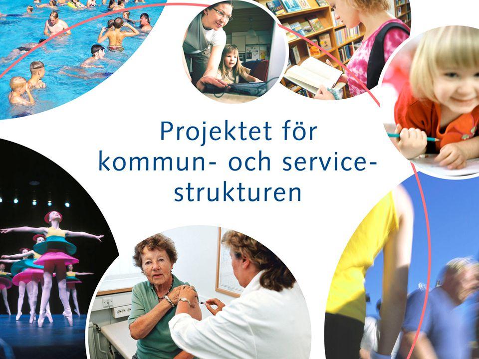 •Finland – enhetsstat med 2 förvaltningsnivåer: staten och kommunerna, med delat ansvar för förverkligandet av invånarnas grundläggande rättigheter •Kommunerna skiljer sig från varann: - invånarantal (131 – 559.046) - befolkningstäthet ( 0,2 – 3034,2 / km2) - geografiskt område (men Finland stort…) - ekonomisk kapacitet - … men alla har samma skyldigheter •Uppgiftsfältet är möjligtvis det bredaste i världen Varför strukturreform.