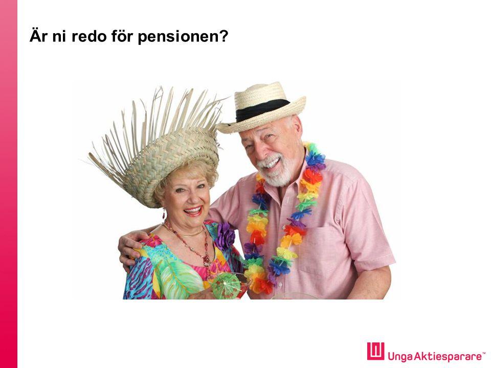Är ni redo för pensionen?