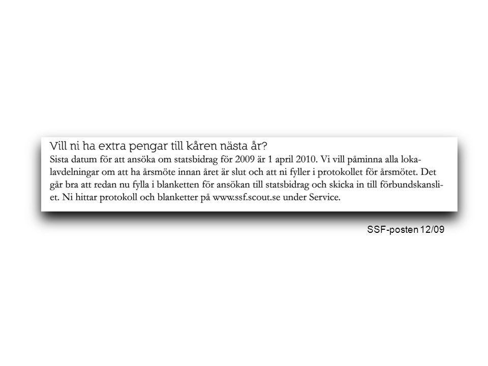 SSF-posten 12/09