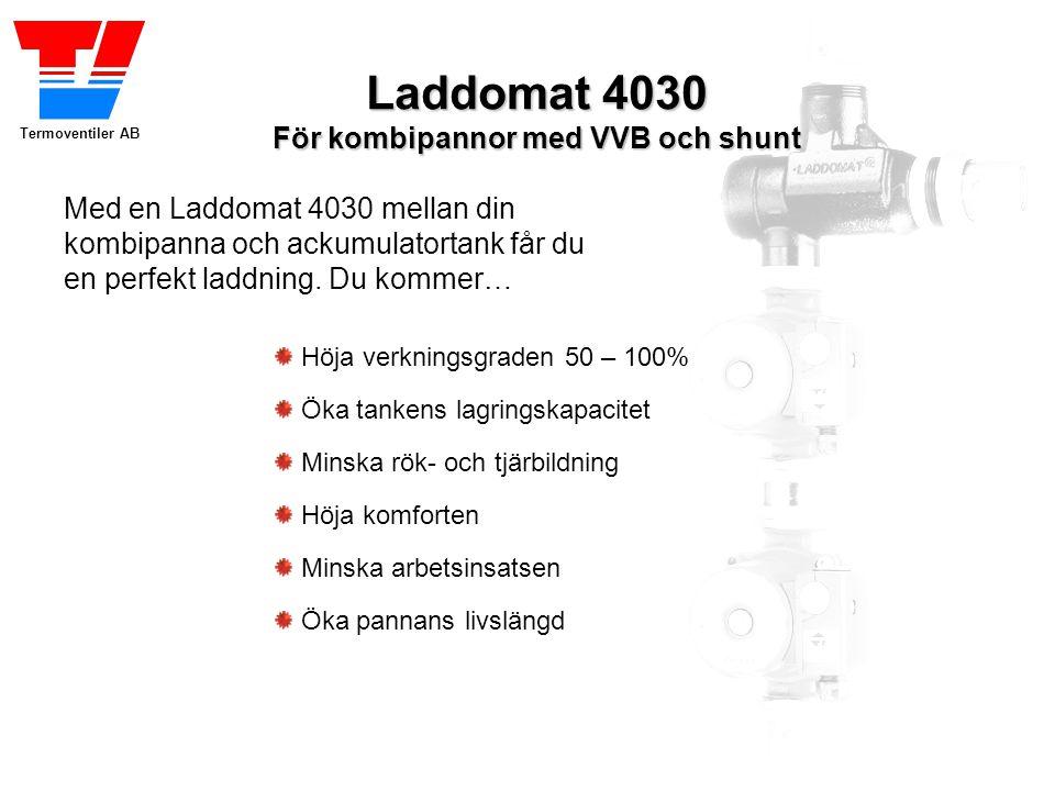 Termoventiler AB Höja verkningsgraden 50 – 100% Med en Laddomat 4030 mellan din kombipanna och ackumulatortank får du en perfekt laddning. Du kommer…