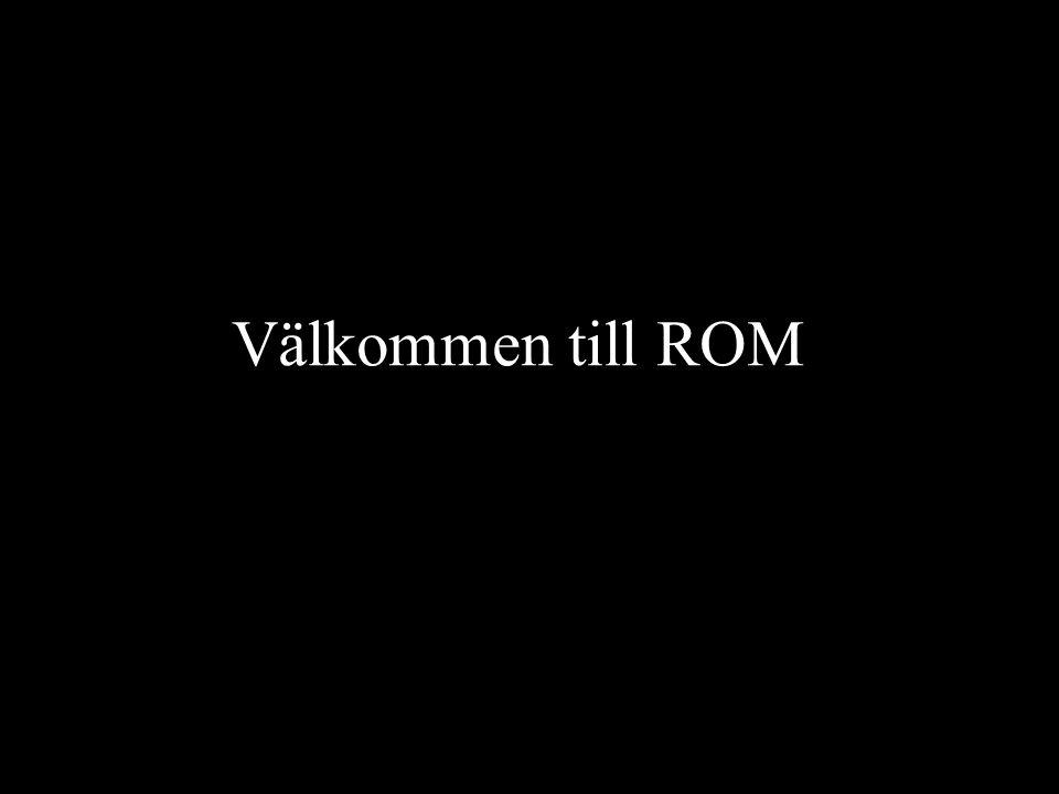 Välkommen till ROM