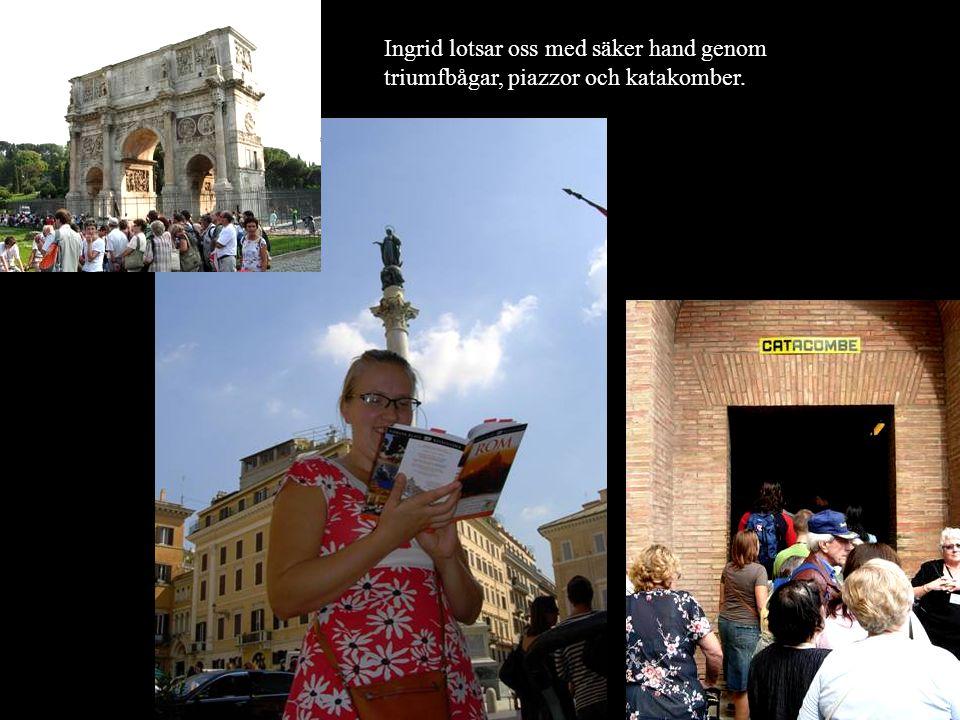 Forum Romanum. Här kan man hitta grejer som var antika redan på Jesus tid.