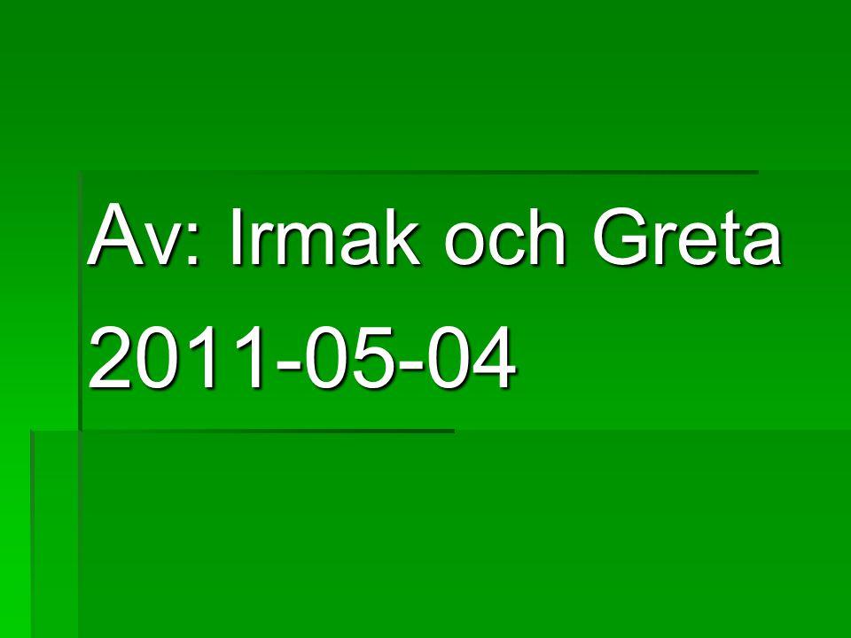 A v: Irmak och Greta 2011-05-04