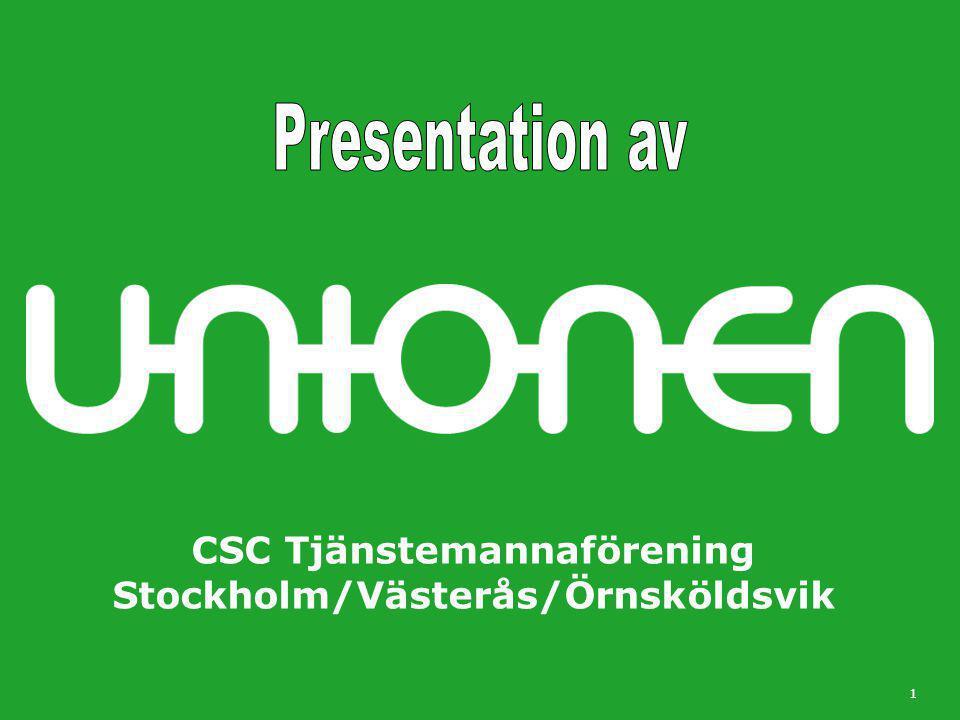 CSC Tjänstemannaförening Stockholm/Västerås/Örnsköldsvik 1