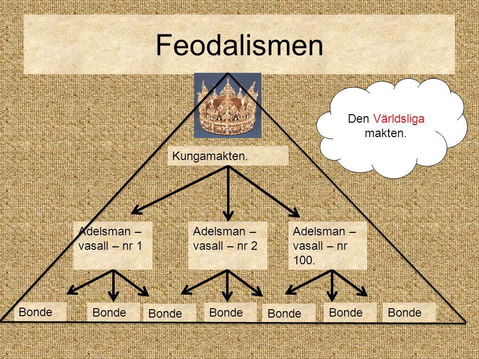Kungamakten.Adelsman – vasall – nr 1 Adelsman – vasall – nr 2 Adelsman – vasall – nr 100.