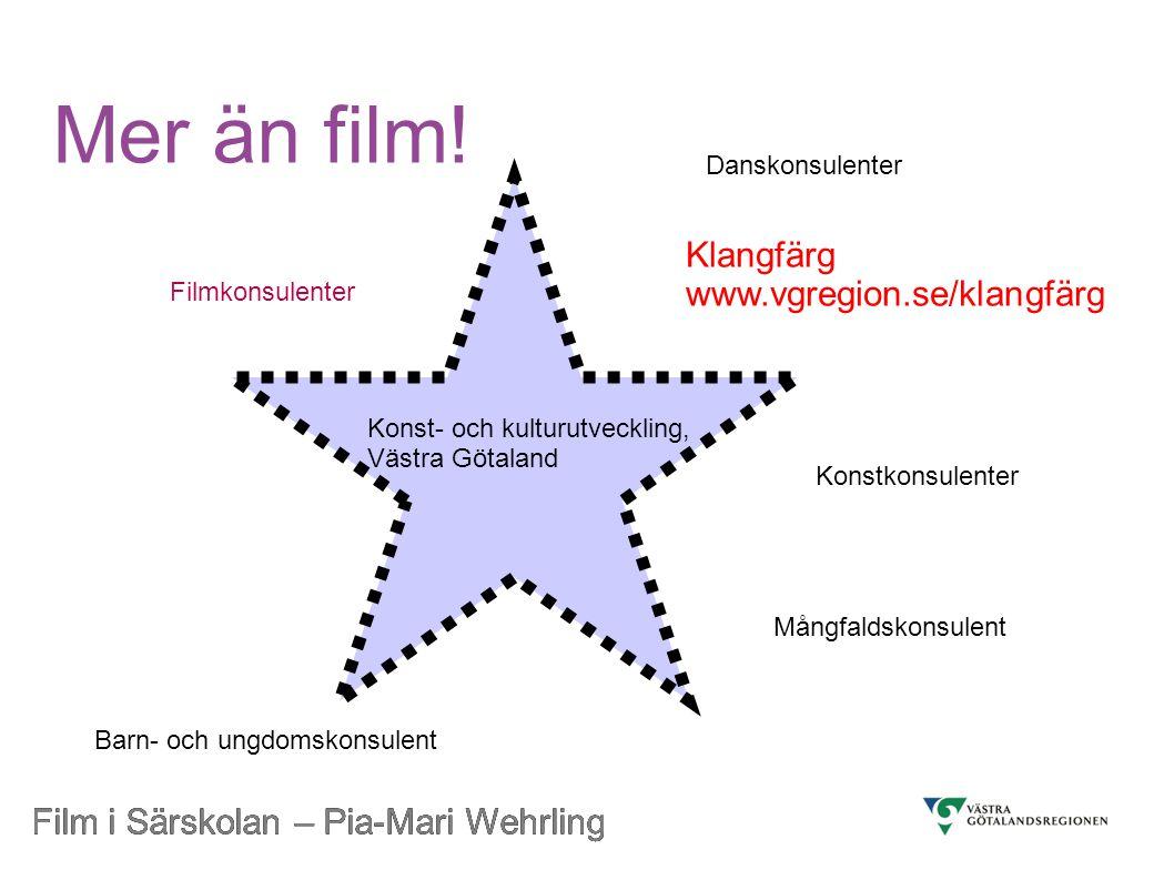 Film i Särskolan – Pia-Mari Wehrling Att se film på bio Film på bio.
