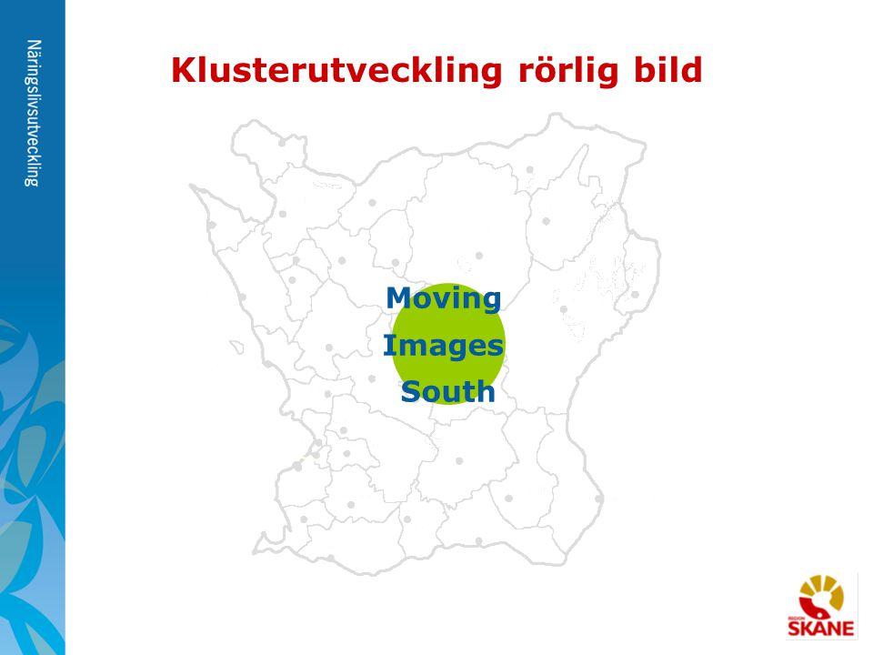 Moving Images South Klusterutveckling rörlig bild