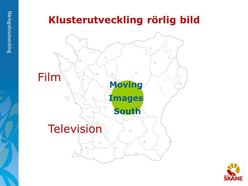 Moving Images South Klusterutveckling rörlig bild Film Television