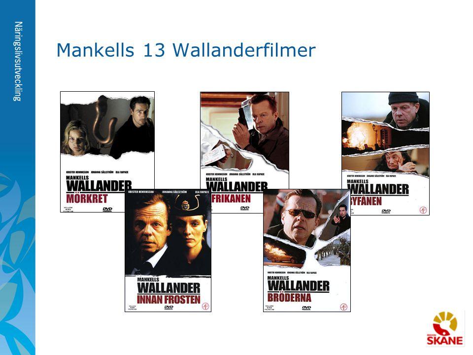 Mankells 13 Wallanderfilmer