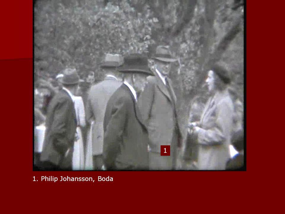 1. Philip Johansson, Boda 1