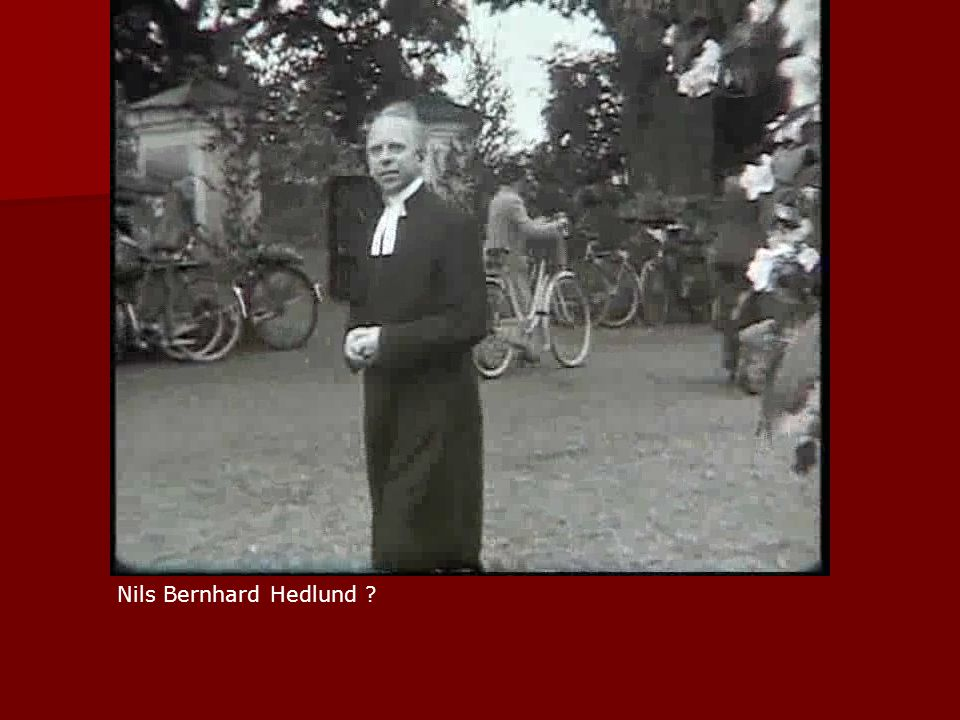 Nils Bernhard Hedlund ?