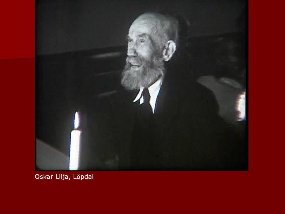 Oskar Lilja, Löpdal