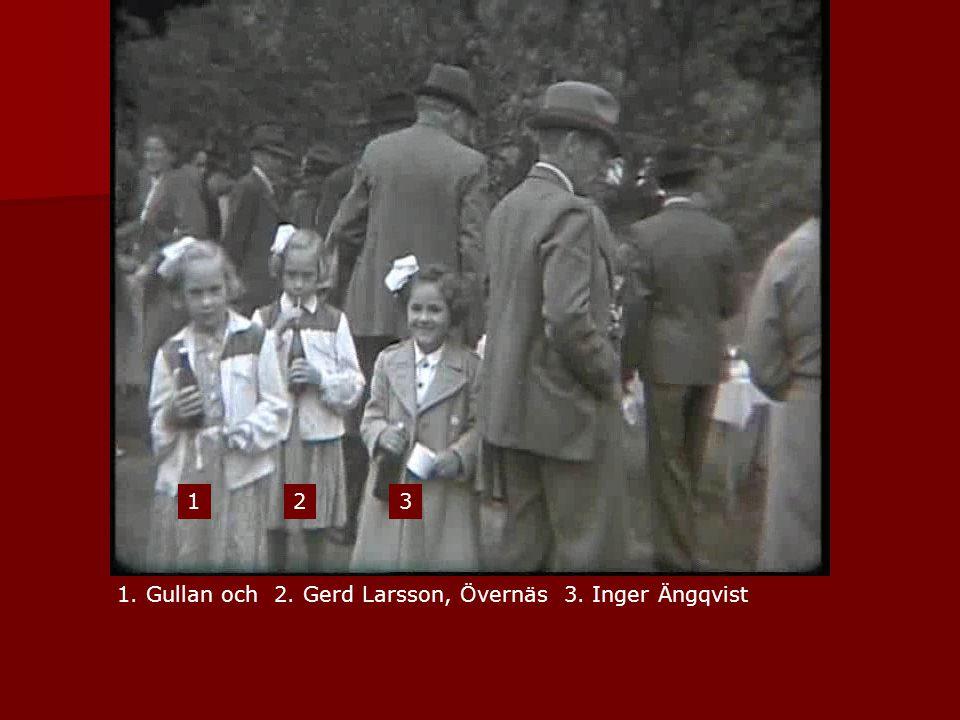 1. Gullan och 2. Gerd Larsson, Övernäs 3. Inger Ängqvist 123
