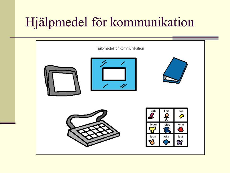 Hjälpmedel för kommunikation