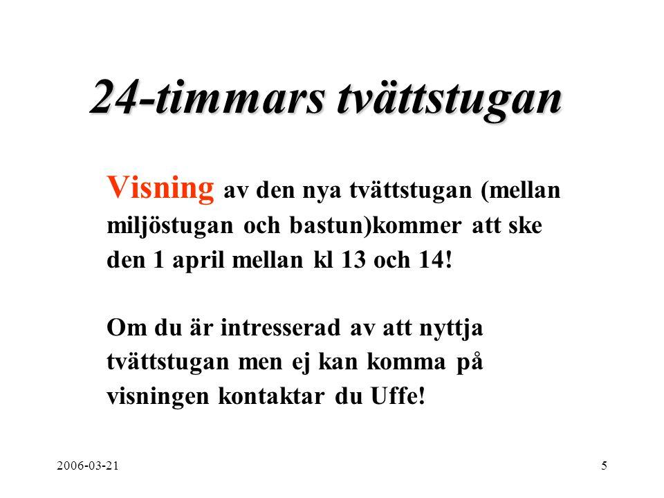 2006-03-2116 Polisens tipstelefon Inbrotten upp i Tensta har ökat den senaste tiden.
