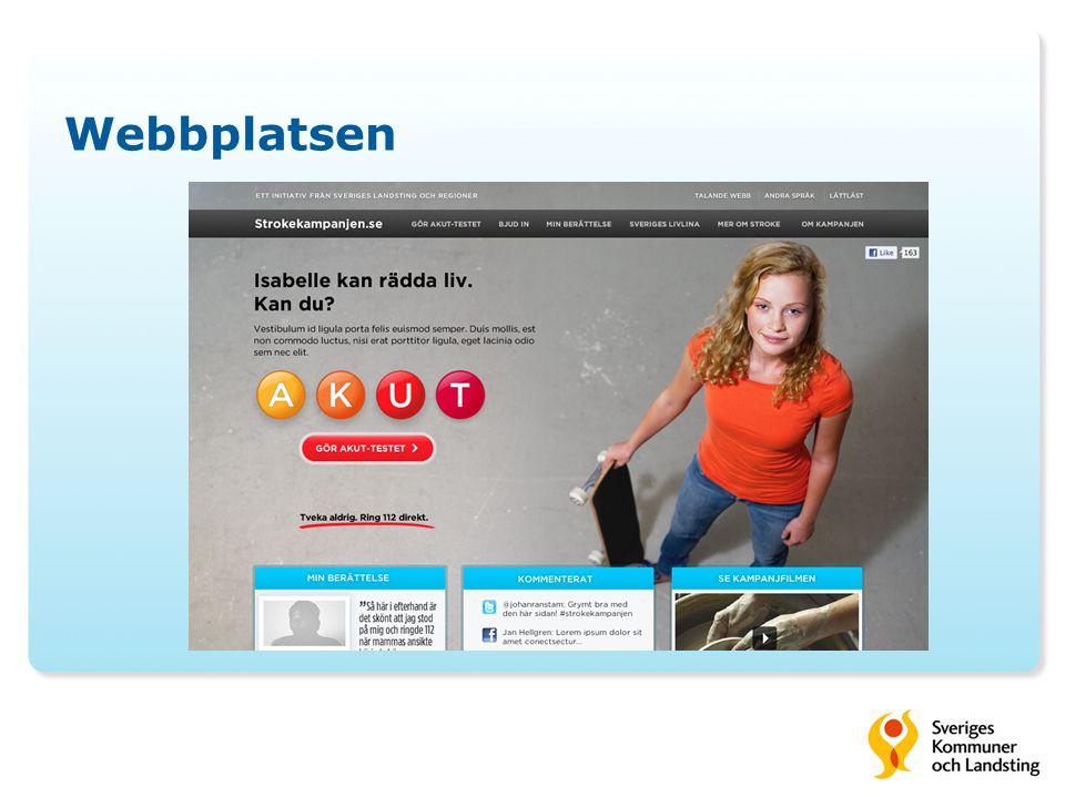 Treårig strategi med tydligt fokus 2011 - Kampanjstart i TV fredag 7 oktober - Kampanjslut söndagen den 6 november - 75 % av medieinsatsen 7 – 30 oktober - TV-filmen ca fem dagar innan start av annonsering i dagspress och online.