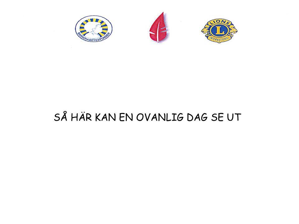 EE SÅ HÄR KAN EN OVANLIG DAG SE UT