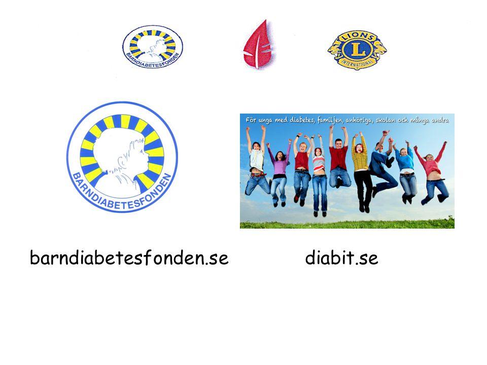 barndiabetesfonden.se diabit.se