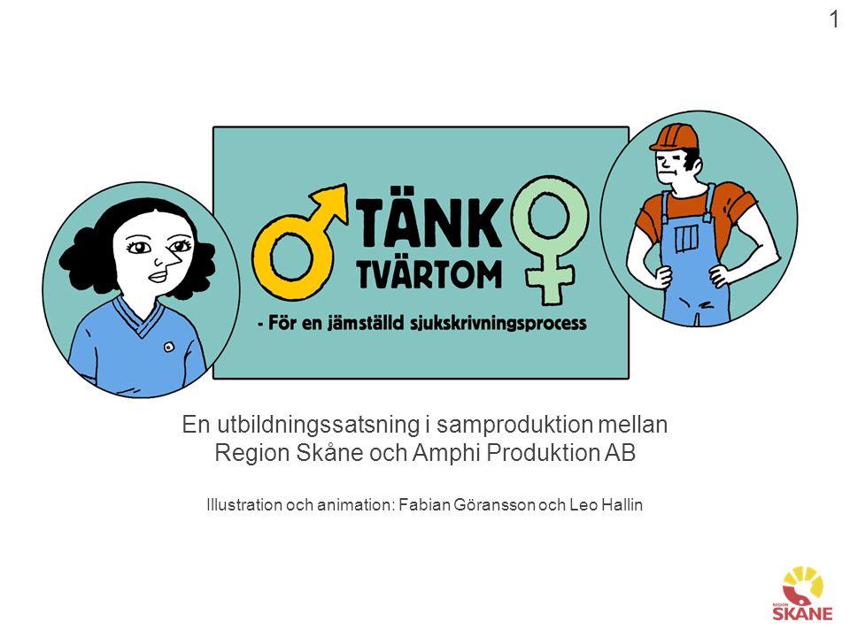 En utbildningssatsning i samproduktion mellan Region Skåne och Amphi Produktion AB Illustration och animation: Fabian Göransson och Leo Hallin 1