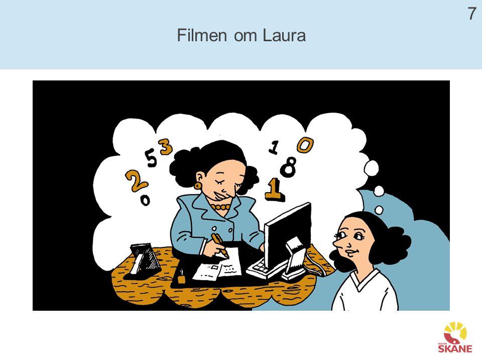 Fallet Laura Analysera fallet Laura utifrån fingrarna på Genushanden.