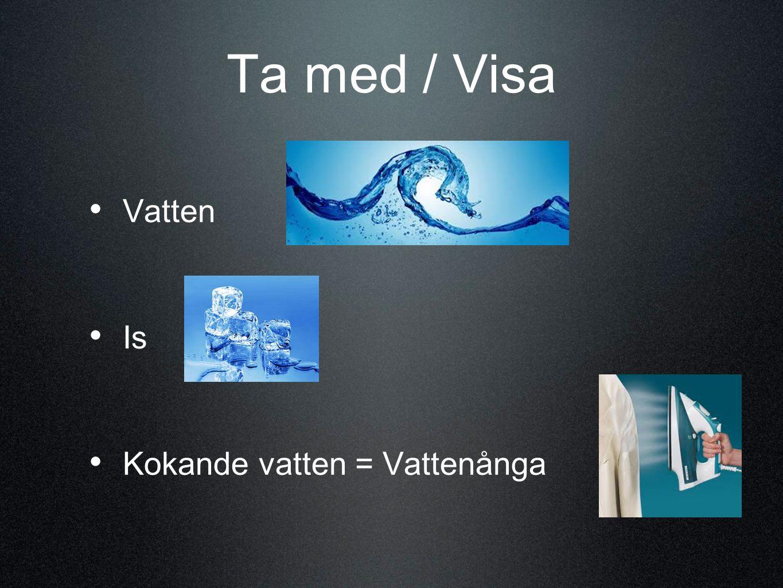 Visa filmen: • Kayos krita : • Smältande is och ett varmt bad • http://www.ne.se/ur/program/164297 http://www.ne.se/ur/program/164297
