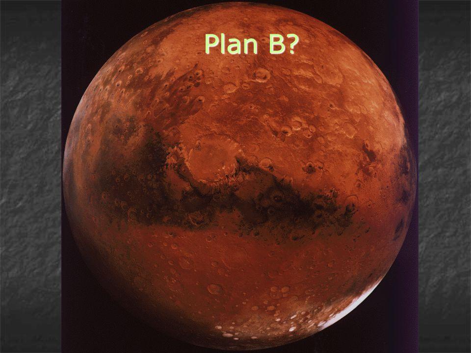 Mars:  Är den planet i vårt solsystem som är mest lik Jorden  Ligger på 228 miljoner km från solen (Jorden: 150 miljoner km)  Jorden får 1730 W energi/m 2 från solen medan Mars får 590 W/m 2 → medeltemperaturen på Mars ligger på -50 ºC.