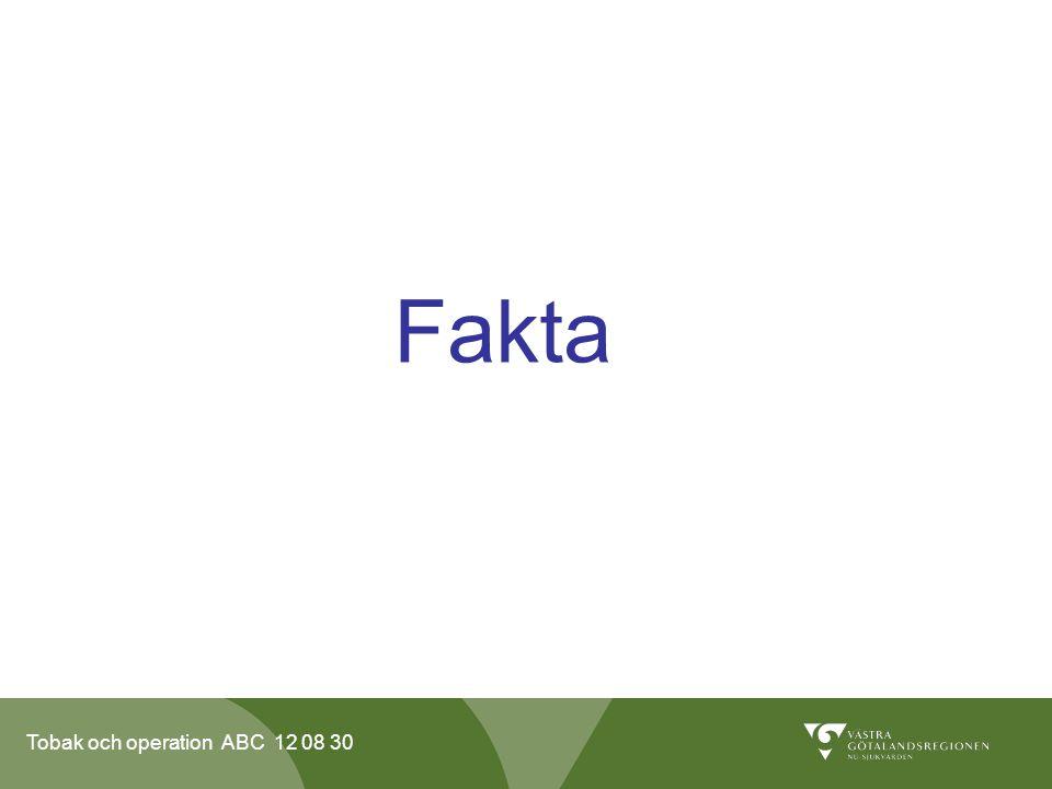 Tobak och operation ABC 12 08 30 Skriftlig information till patienten.