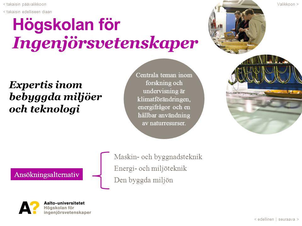 Svenskspråkiga studier •Grundkurser i bl.a.