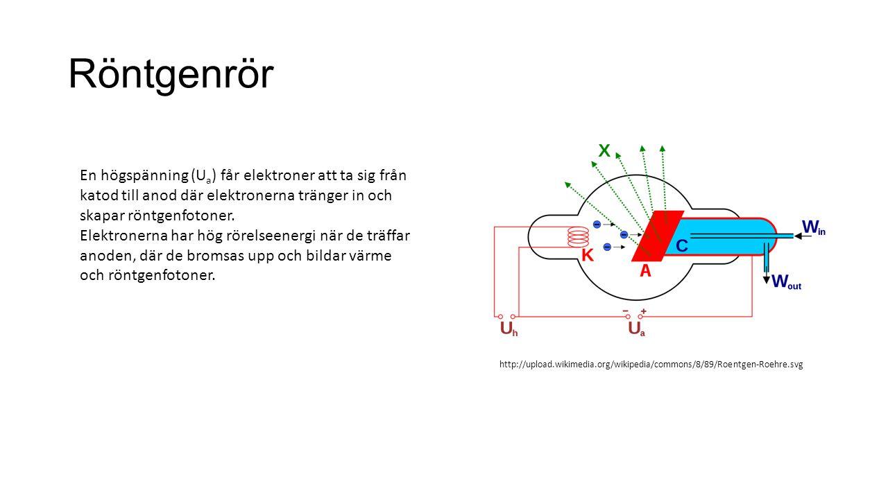 Primärbländare Funktion: begränsar arean som bestrålas – minskar därför strålningsdos.