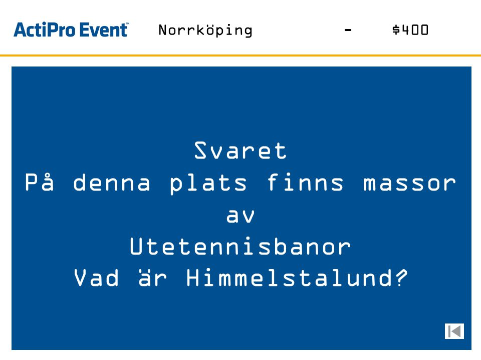 Svaret Det blev fel när han sa kära Örebroare Vem är kungen? Vem sa vad-$400