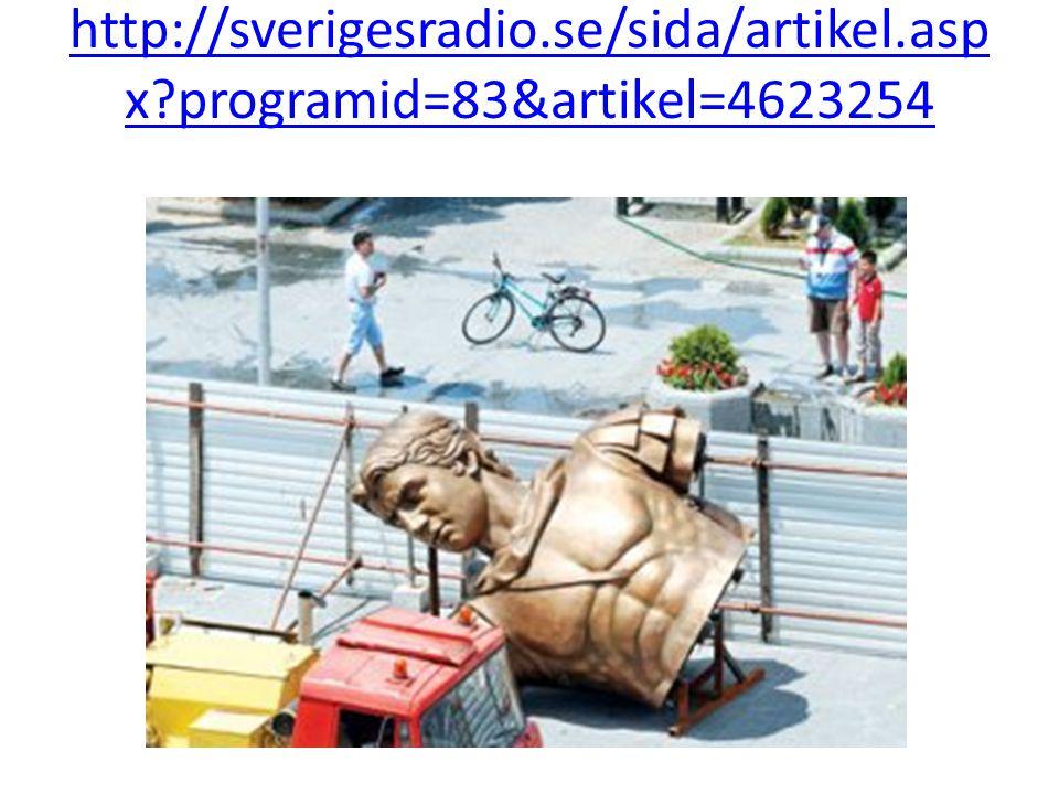 http://sverigesradio.se/sida/artikel.asp x?programid=83&artikel=4623254