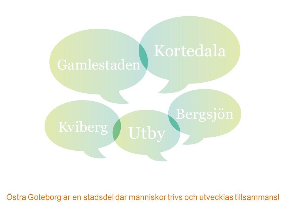 Östra Göteborg är en stadsdel där människor trivs och utvecklas tillsammans!