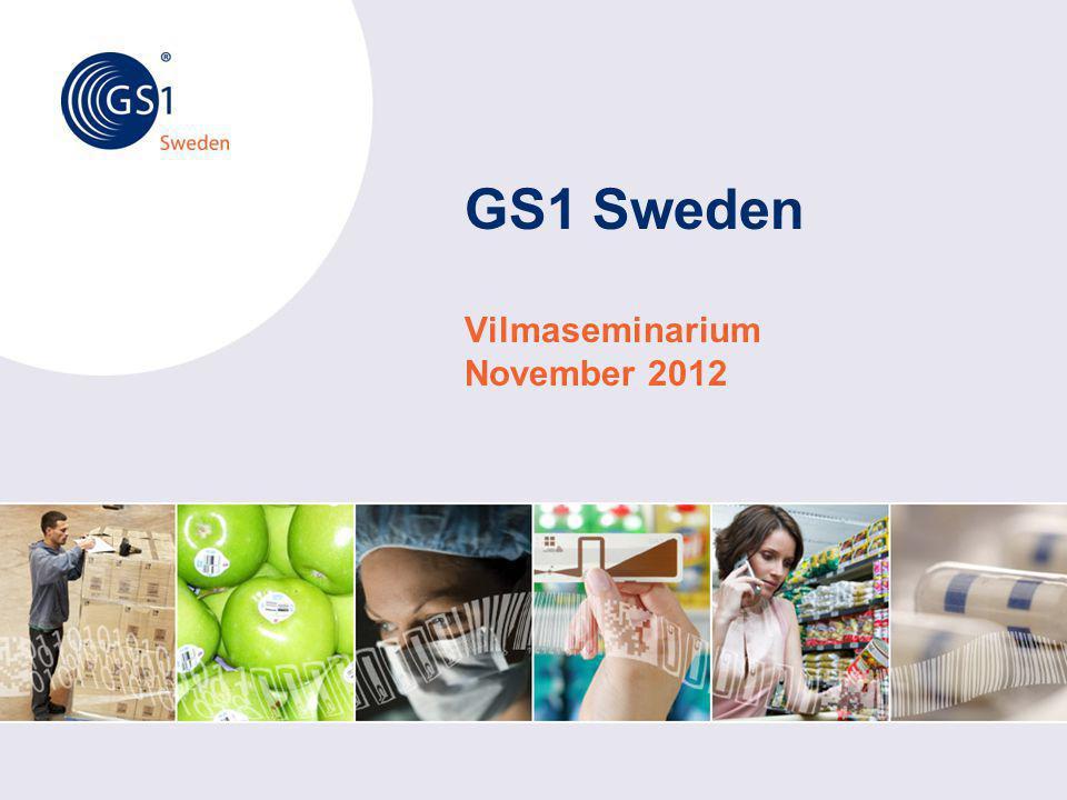 GS1 Sweden Vilmaseminarium November 2012