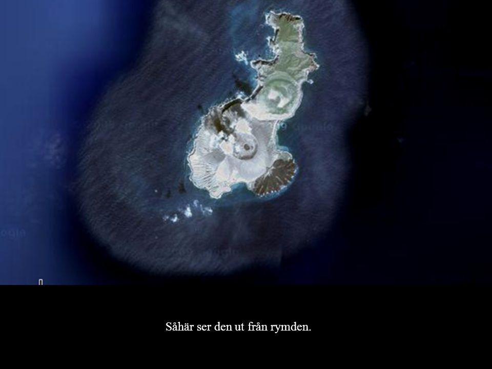 Såhär ser den ut från rymden.
