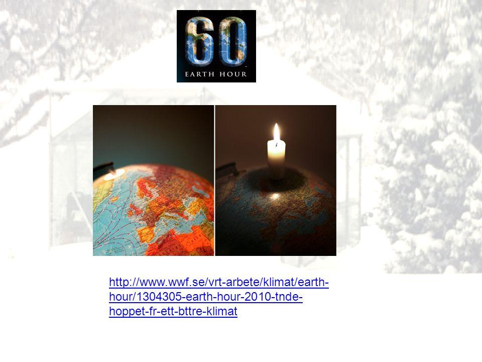 http://www.wwf.se/vrt-arbete/klimat/earth- hour/1304305-earth-hour-2010-tnde- hoppet-fr-ett-bttre-klimat