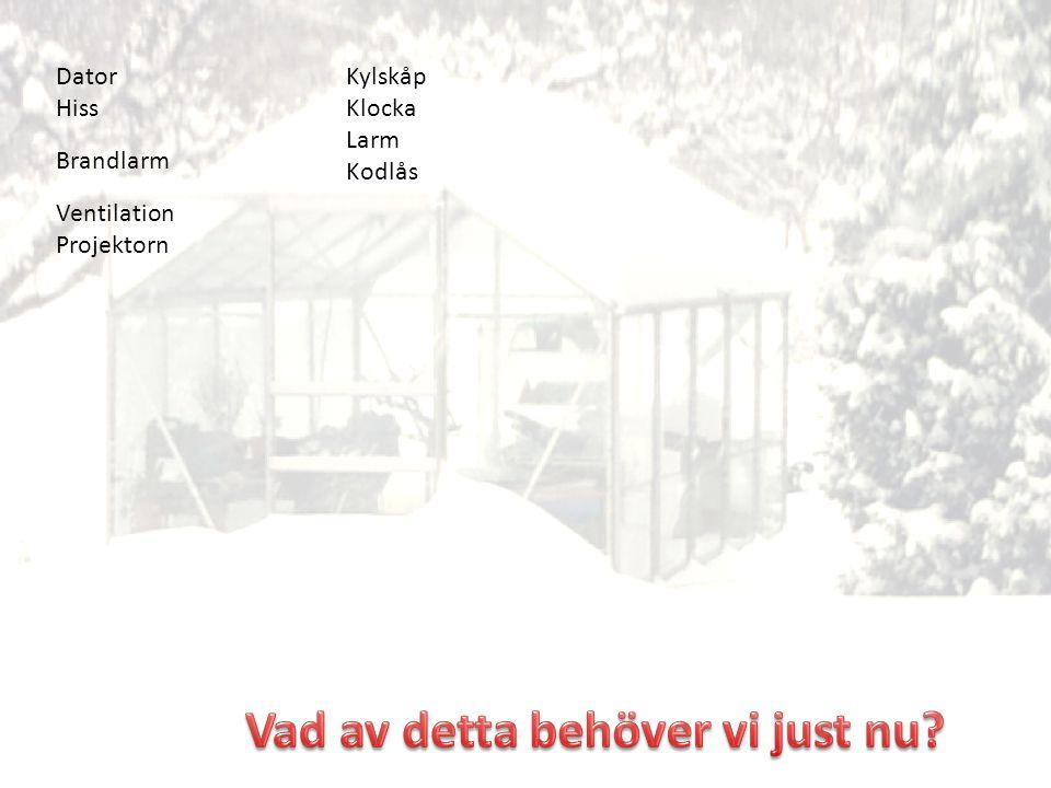 Dator Hiss Brandlarm Ventilation Projektorn Kylskåp Klocka Larm Kodlås