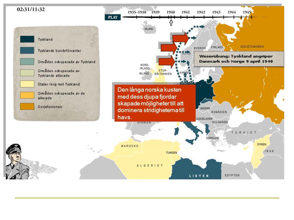 Läget 1944: De allierade:Axelmakterna: Storbritannien Sovjetunionen Tyskland Italien Japan USA Vilken allians var mäktigast 1944.