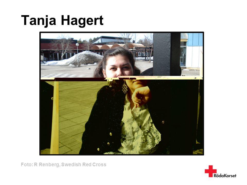 Tanja Hagert Foto: R Renberg, Swedish Red Cross