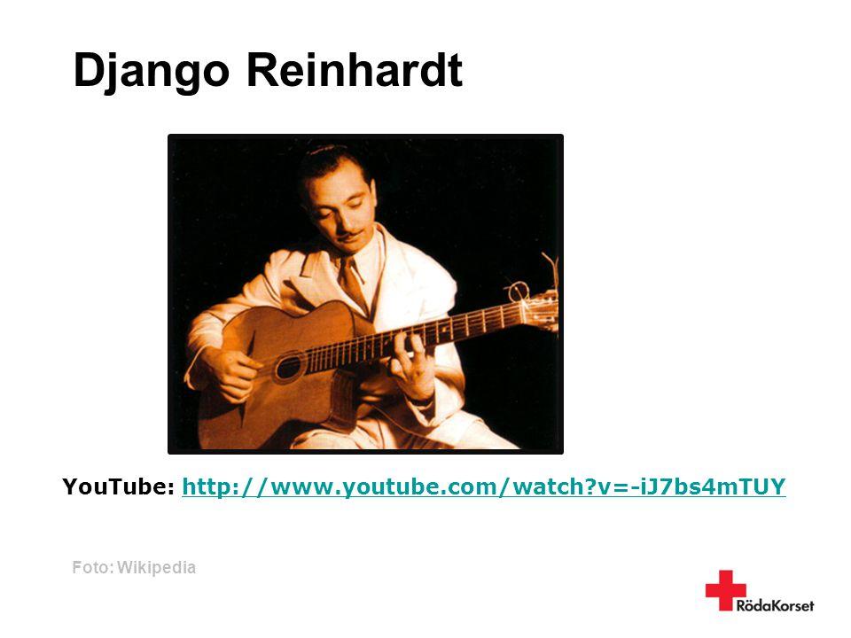 Django Reinhardt Foto: Wikipedia YouTube: http://www.youtube.com/watch?v=-iJ7bs4mTUYhttp://www.youtube.com/watch?v=-iJ7bs4mTUY