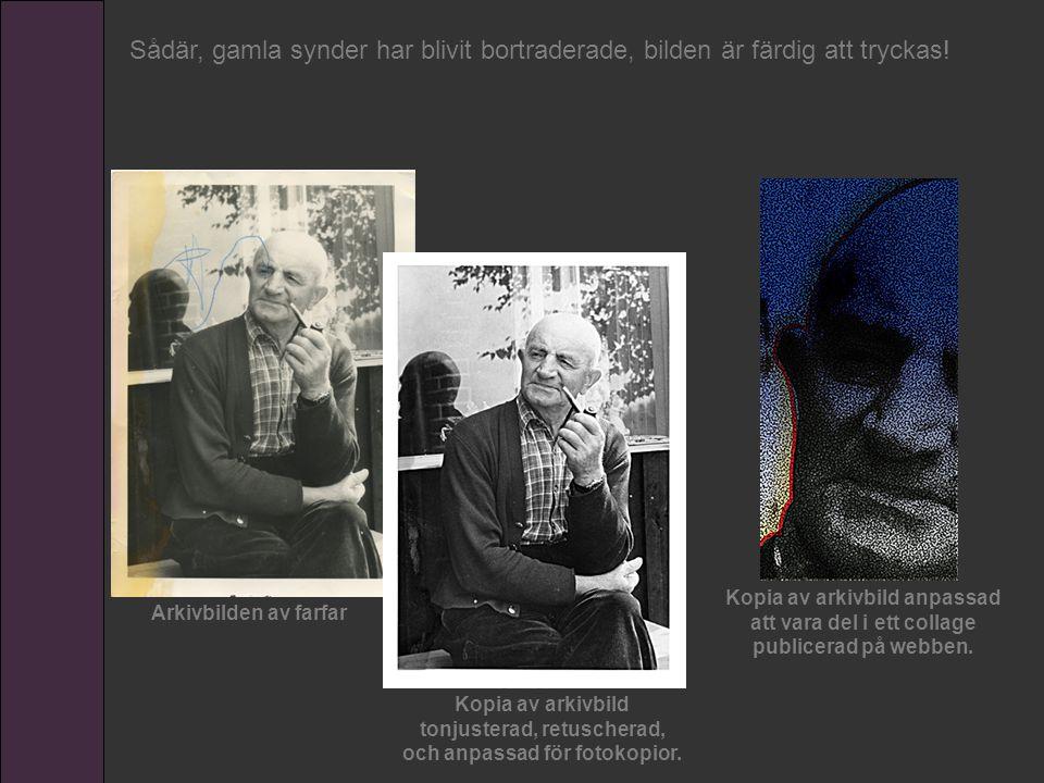 Arkivbilden av farfar Kopia av arkivbild tonjusterad, retuscherad, och anpassad för fotokopior. Kopia av arkivbild anpassad att vara del i ett collage