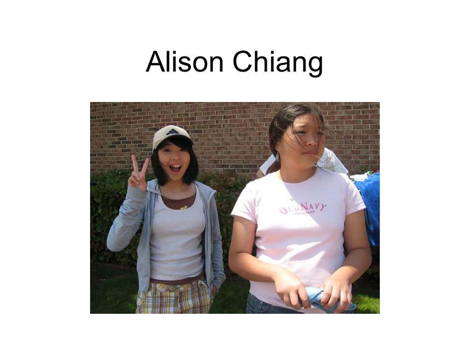 Alison Chiang