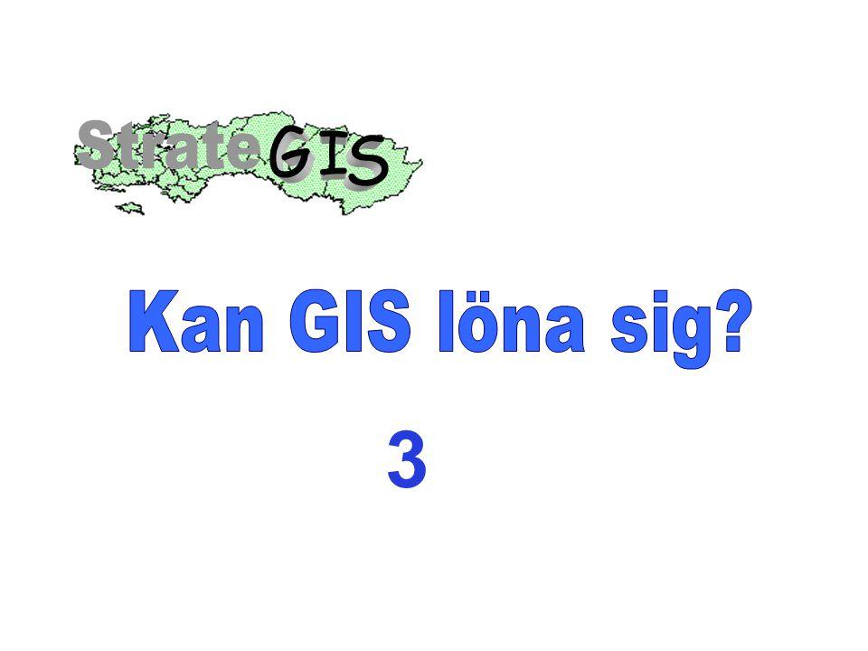 Ett organisationsgemensamt GIS – Att bara behöva hämta information på ett ställe KoordinaterFotoRitningar Tekniska Karta beskriv- ningar EgenskaperVideo- (Attribut)sekvenser