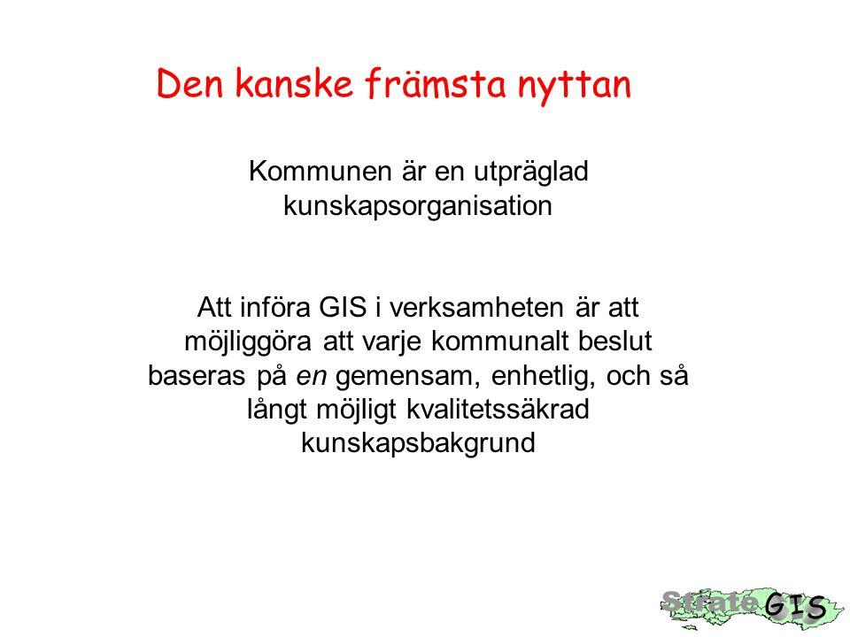 GIS möjliggör förändrat arbetssätt = högre effektivitet och bättre arbetstillfredsställelse
